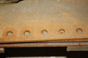 Pre-drilled Holes in Tender Steel