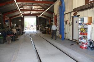 An empty Tri-Dam shop is a rare sight!