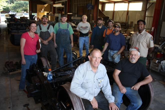 Railtown Crew at the Railtown Shops