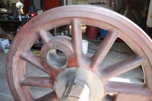 Viola!  Completed repair.