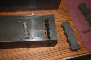 Custom-cut steel for repair