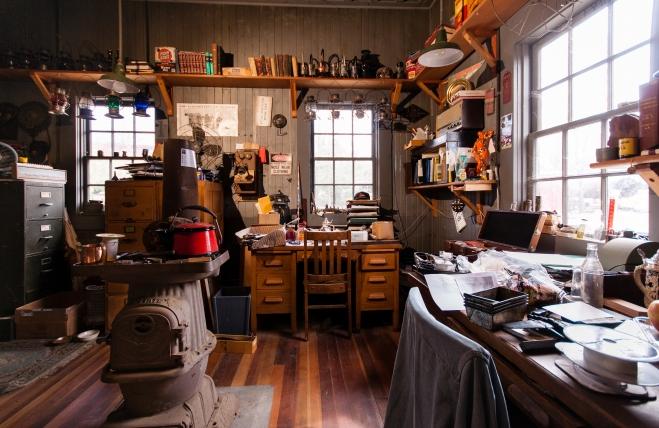 Master Mechanic's Office- Michael Sharps Photo
