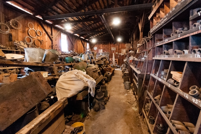 Parts Warehouse- Michael Sharps Photo