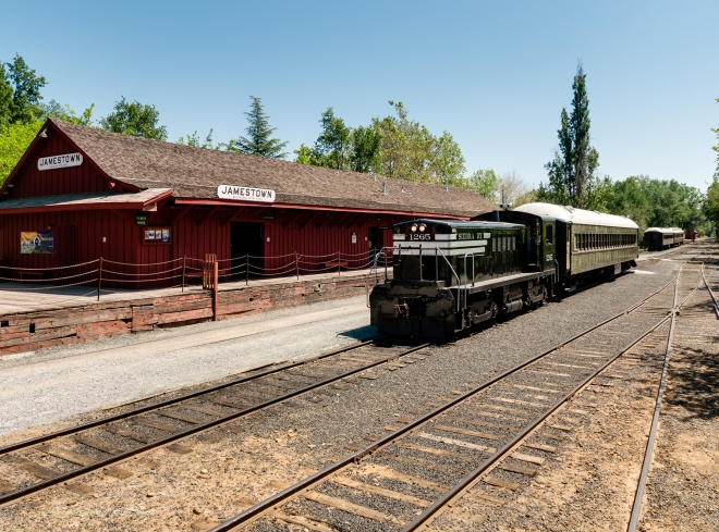 Diesel at Depot