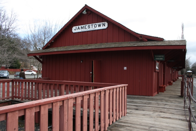 Jamestown Depot
