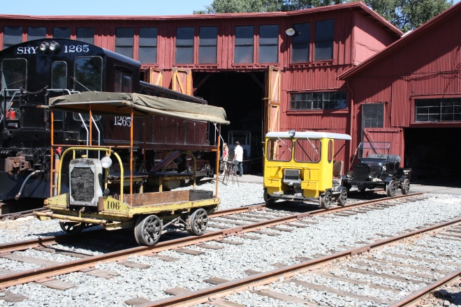 Two track cars