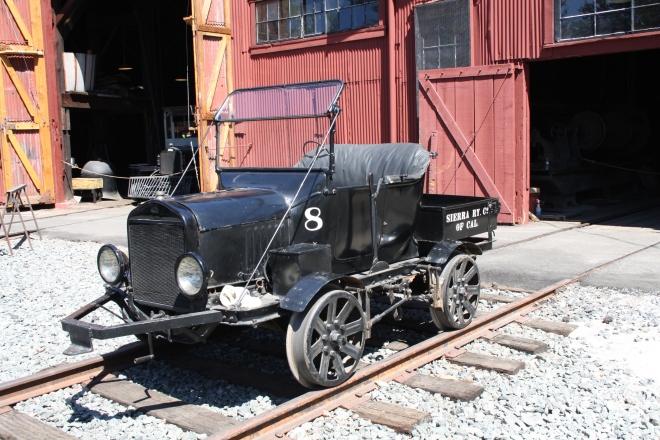 Model T Track Car