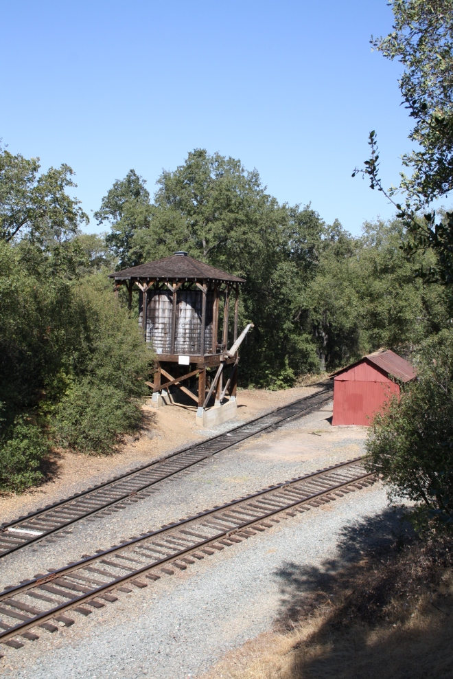 Tracks at the Water Tank (Petticoat Junction view)
