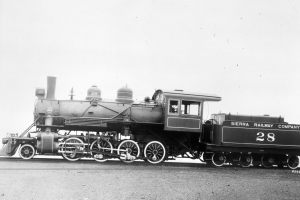 The Sierra No. 28 as it was when it left the Baldwin Motor Works in 1922