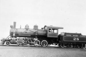 The Sierra No. 28 as it was when it left the Baldwin Motor Works in 1922