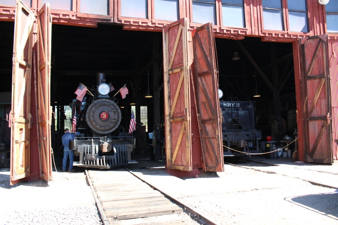 The SIerra No. 3 being prepared for 4th of July weekend