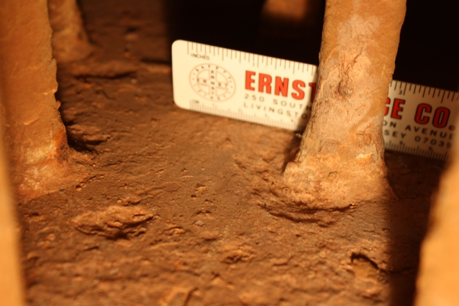 x Over time, changes in pressure, as well as exposure to water, condensation, and scale, corrosive forces will prevail.  When the annual inspection was conducted on the boiler in 2010,