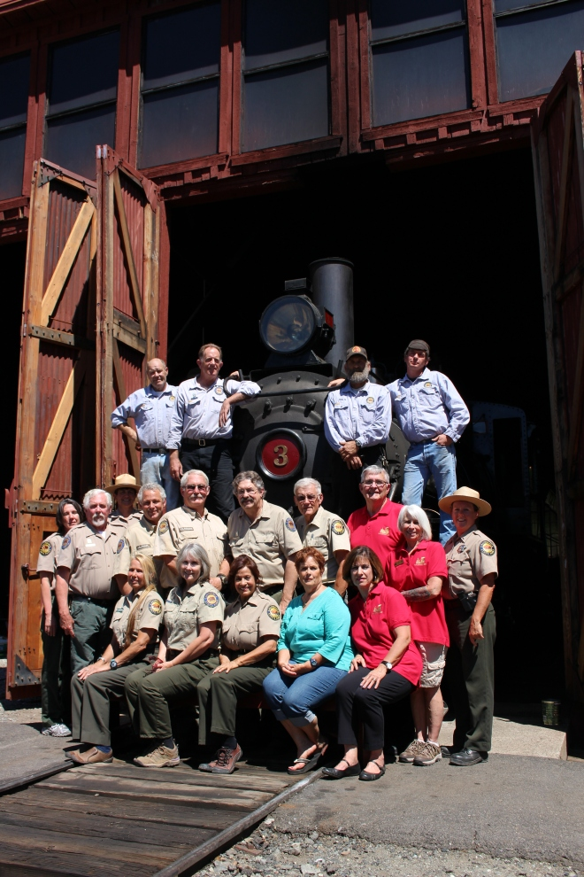 The Railtown team consists of a diverse group of state and foundation employees who work in conjunction with over 150 volunteers to maintain and operate this unique historic site.