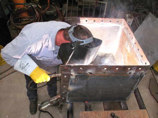 new damper box construction