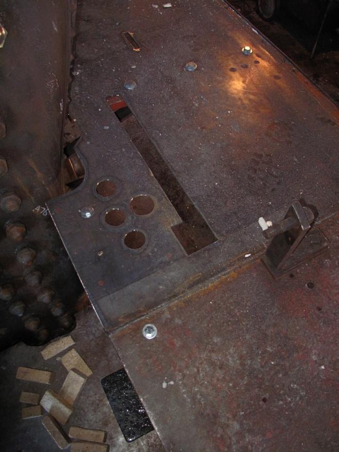 patch Engineer's side floor